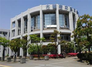 天王寺高校外観
