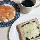 和風のりのり♪トーストで朝ごはん!の巻