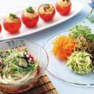 体にやさしいメリットも!? 夏野菜×麺のアレンジレシピ