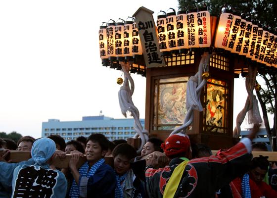 立川よいと祭り