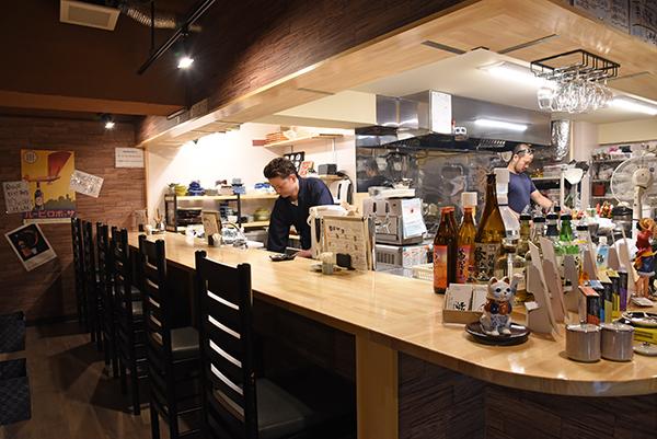 柏駅東口、魚浜(さかな)で旬の魚料理をビールやこだわりの日本酒で