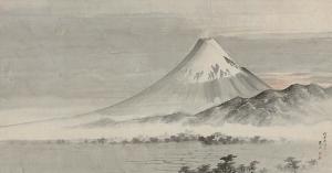 横山華山《富士山図》