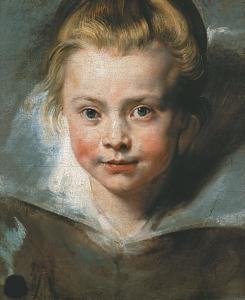 クララ・セレーナ・ルーベンスの肖像