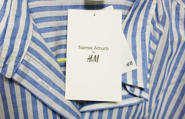 「Namie Amuro × H&M」の服を買ってみた