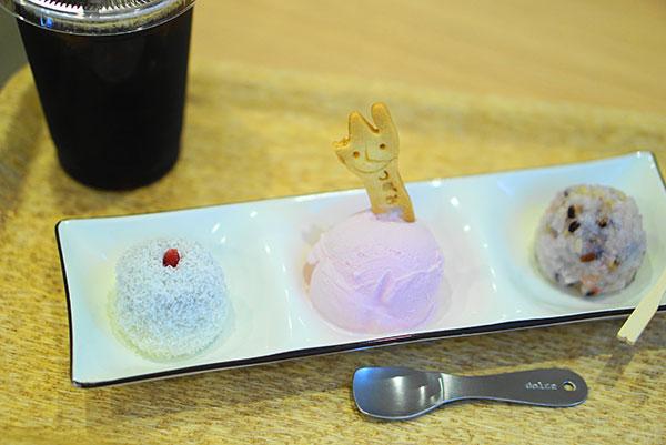 7月にオープンした、かわいいおはぎ&アイスのお店「つぼみあん」(大須)