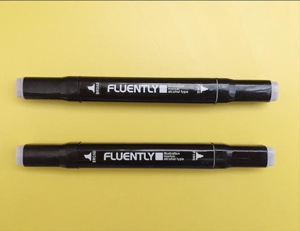 【ダイソー】脅威のコスパ★54円のペンがコピック級に使える!