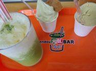 子どもも喜ぶ美味しい青汁「endou元気BAR」@古川・はなみずき通り