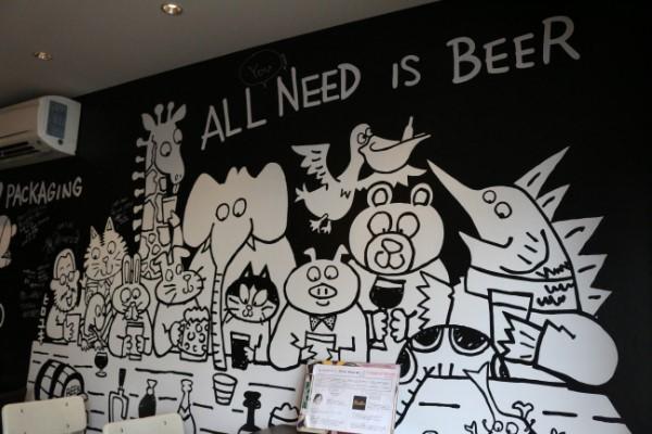 ビールの時間だよ!日替わり10種類のクラフトビールが飲める「Beer O'clock」@千葉
