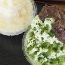 「和菓子屋 まるおき」は250円のかき氷も絶品 @雄郡