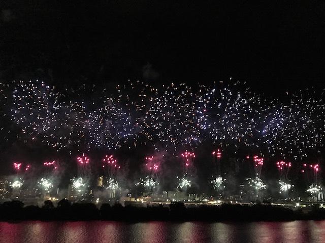 【花火動画アリ】大田区平和都市宣言記念事業「花火の祭典」