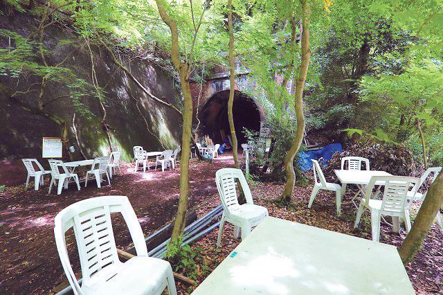愛岐トンネル群「森のビアホール」、8月26日(日)までの土・日曜開催(春日井)