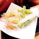 【New Open】旬の食材の天ぷらで!カウンター席や半個室の座敷席で用意!「天ぷら くきに」