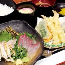 【New Open】鹿児島産の鮮魚と鳥刺しのランチが980円!親子丼も人気「薩摩食堂 農乃家」
