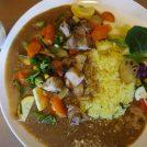 野菜たっぷり!1日10食限定のチキン&野菜カレーライスは早い者勝ち!天満橋「Alinco」