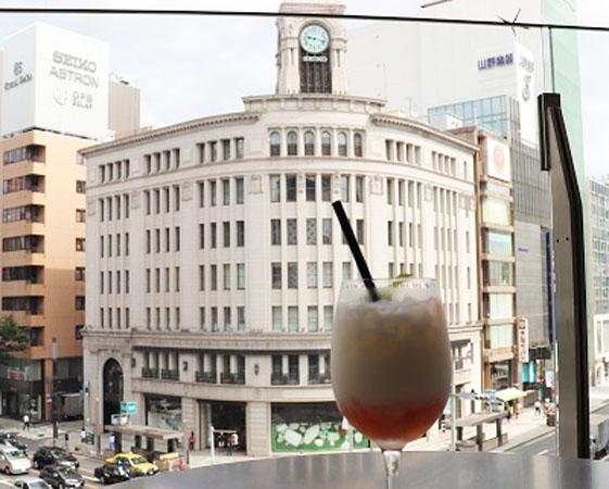 知ってると鼻高♪銀座プレイスの絶景カフェ「RAMO FRUTAS CAFE」!