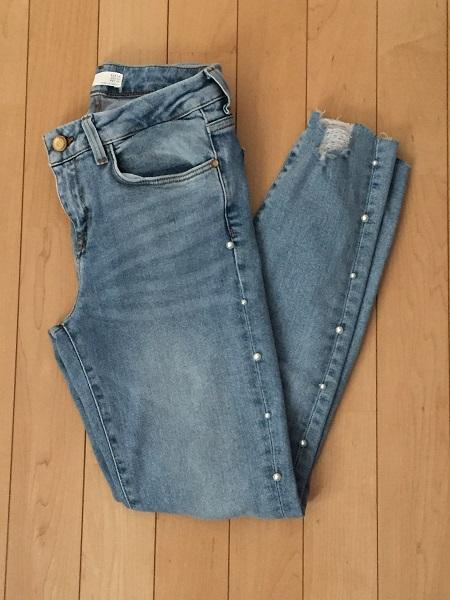 ZARAのパール付きジーンズが激かわ!!売り切れ必至!?