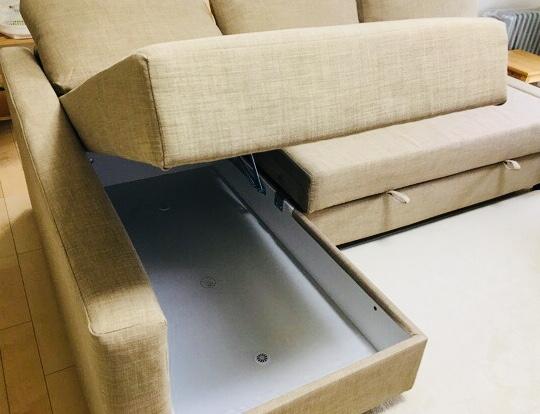 変身する【IKEA】のソファで狭いリビングが快適に♪
