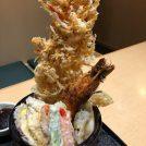 【志布志】ランチの満腹タワーかき揚げ『男丼』が人気!「味人膳(あじぜん)」