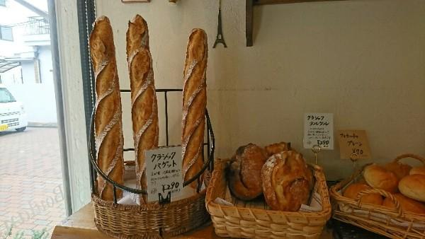 小麦の甘味がしっかり強い!ハード系パン好き必見、茨木「ル・ペトラン」