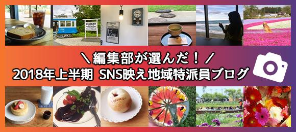 2018年上半期編集部が選んだSNS映え特派員ブログ