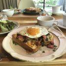 緑と涼とモーニングを求めて軽井沢のカフェへ!朝からスイーツもあり♡
