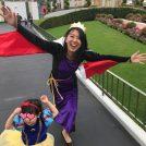 ディズニーハロウィンに白雪姫と魔女の親子仮装で参戦してきましたっ☆