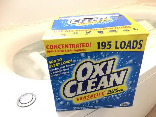 【オキシ漬け!】Costcoのオキシクリーンでお風呂もピッカピカ♪