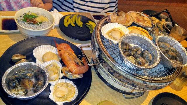 産地直送海鮮BBQが食べ放題「名古屋みなと漁港」イクラしらす丼も絶品!