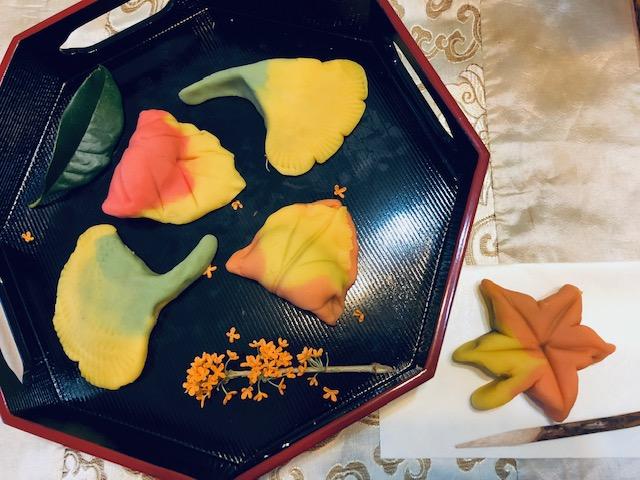 【ホームメイドクッキング】小さい秋見つけた和菓子作り500円体験