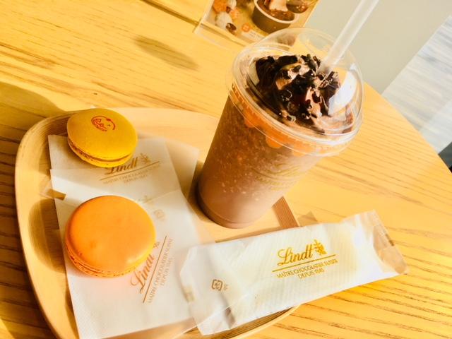 リンツ ショコラ カフェ 季節限定メニュー ハロウイン
