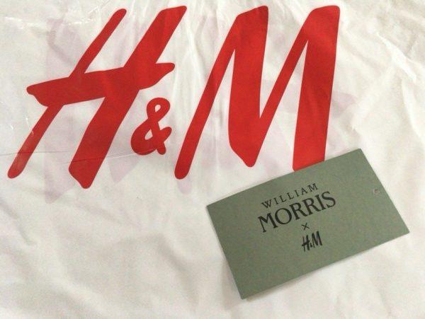 ネットで完売続出!「Morris & Co」と「H&M」のコラボアイテムを手に入れました!