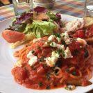 新鮮野菜と絶品トマトソースのランチ「農家のイタリアン3.14」福生