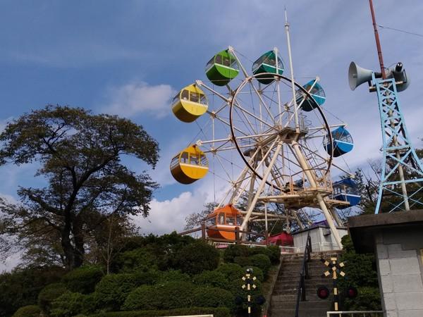 千手山公園にある観覧車