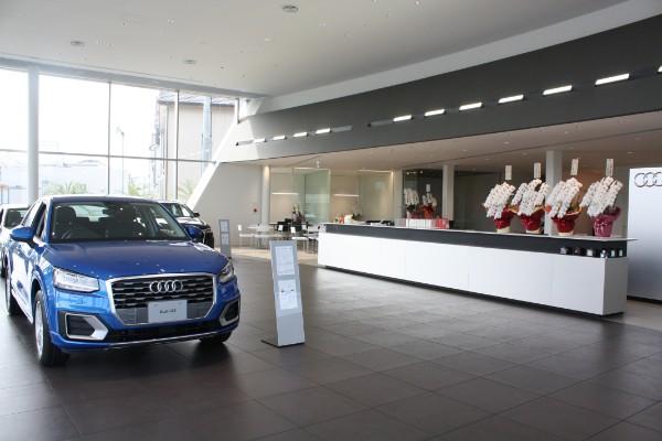 リニューアルを選択・「Audi 松山インター店(アウディ)」、デザイタル商談スペースも誕生!