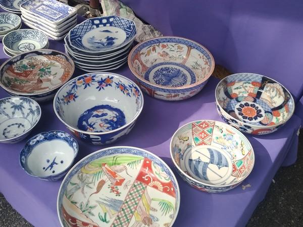 古伊万里の皿など