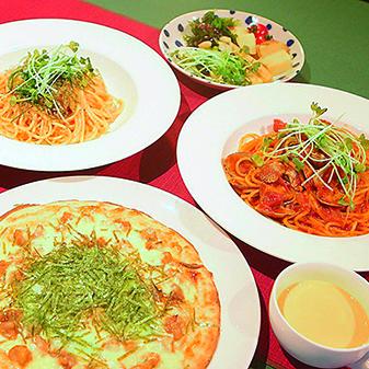 【New Open】パスタ・ピザのランチが980円~!桜島の景色も楽しめる「café ILAND VILLAGE」