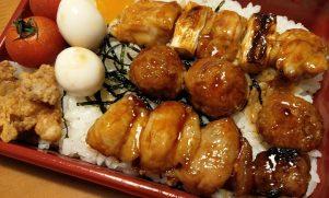穴場!人気生鮮スーパー直営『あきとり』の焼鳥丼@武蔵関