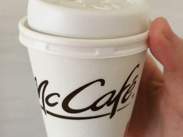 復活!マクドナルド15~21時までホットコーヒー無料