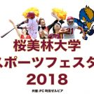多彩なスポーツにチャレンジしよう!「桜美林大学スポーツフェスタ!2018」10/28(日)開催