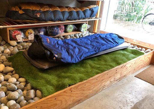 【吉祥寺】ナンガのコンセプトショップ「nap(ナップ)」で寝袋の心地良さを体験!