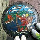 【マンホールさんぽ】歴史的瞬間に遭遇!〈香川県高松市〉