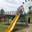 【霧島市国分】秋のお出かけにおすすめ、展望バッチリ!親子三代で一日遊べる公園「城山公園」