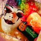 HALLOWEENのお面製作ぅ~♪ネイルカラーで美しく妖艶ホラーに~♪…【閲覧注意】画像アリけりぃ