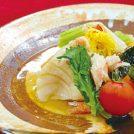 VOL.74 蕪と鯛の柔か煮 カニ身餡かけ