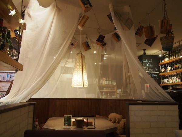 《北区》インテリアにトキめく!ランチが美味しいワインバル「バル de Ricotta(バル デ リコッタ)黒川店」