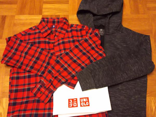 【ユニクロ】小学生男児服とルームウェアを購入してきました