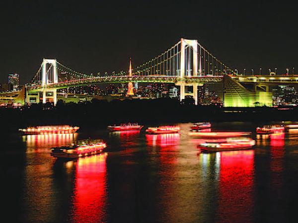 ランチビュッフェ付き!TOKYOクリスマス&イルミネーションクルーズ