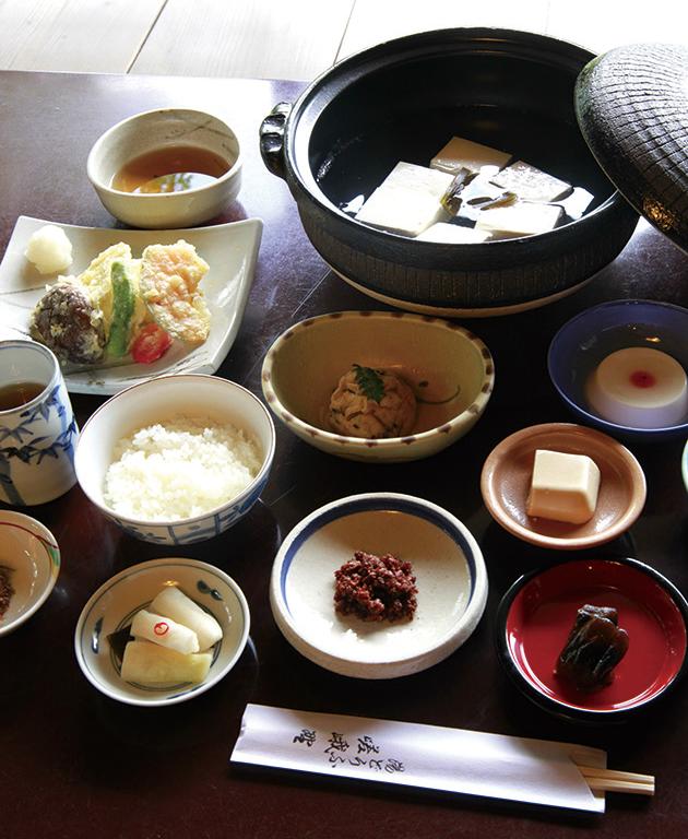 湯豆腐 嵯峨野