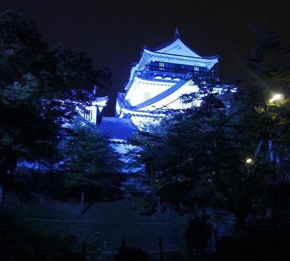 名古屋城が青く光る日って?11月14日(水)は世界糖尿病デー/東海地方のお城ライトアップ情報