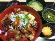 藤沢駅南口「翻車魚丸(まんぼうまる)」のランチは、大迫力の新鮮魚介!